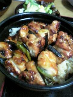 焼鳥丼(鳥竹)