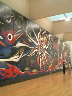 岡本太郎「明日の神話」@東京都現代美術館
