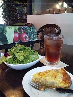 モーニング(キッシュセット)@ThanksNature Cafe