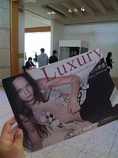 「ラグジュアリー:ファッションの欲望」展@東京都現代美術館