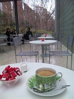 ポーラ美術館でコーヒーブレイク