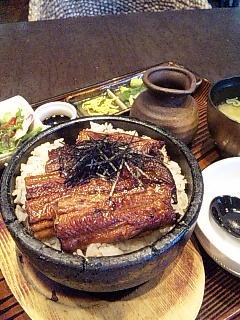鰻の石焼ひつまぶし御膳@ENGAWA・渋谷