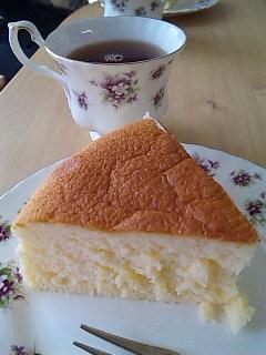 アトリエマリアのチーズスフレケーキ@清澄白河