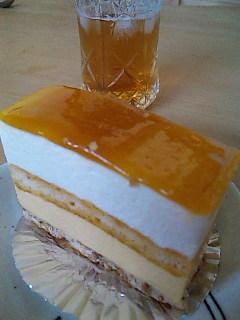 マンゴーとレモンのケーキ@まんげつ工房