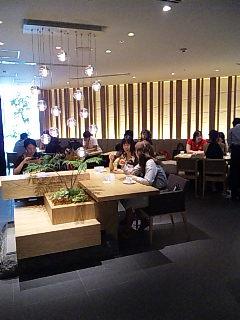 DAVID MYERS CAFE@銀座三越