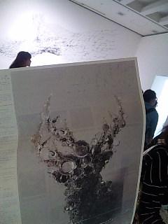 「名和晃平−シンセシス」展@東京都現代美術館