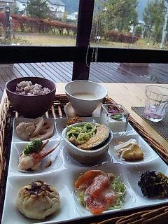 ふるさと菜園レストラン さわらび@長野県須坂市