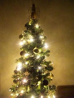 クリスマスツリーを飾ってみた。