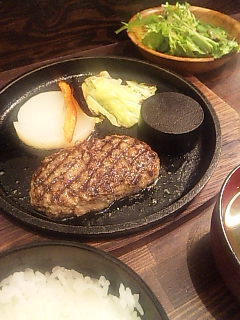 和牛ハンバーグ専門店 智@渋谷