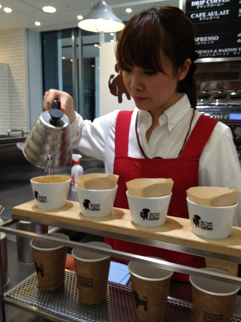The Cream of the Crop Coffee@渋谷ヒカリエ