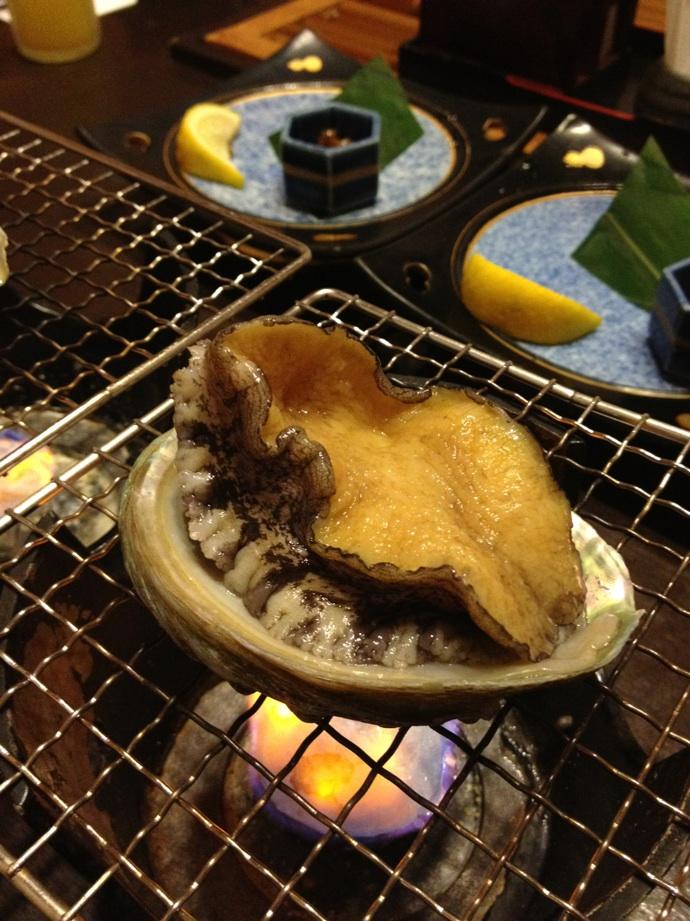 観音温泉の夕食@下田