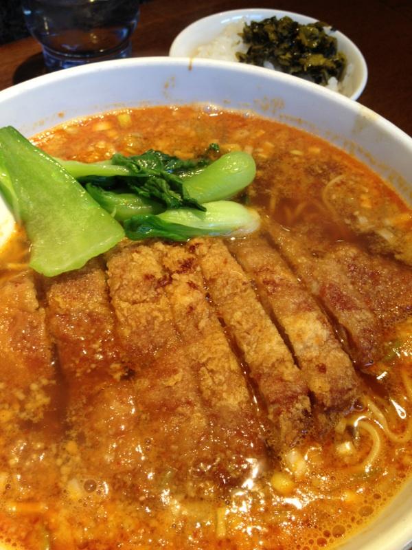 排骨担々麺@亜寿加(渋谷)