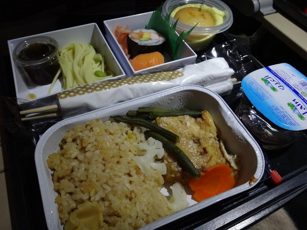 機内食@エティハド航空