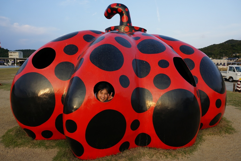 赤かぼちゃ@直島