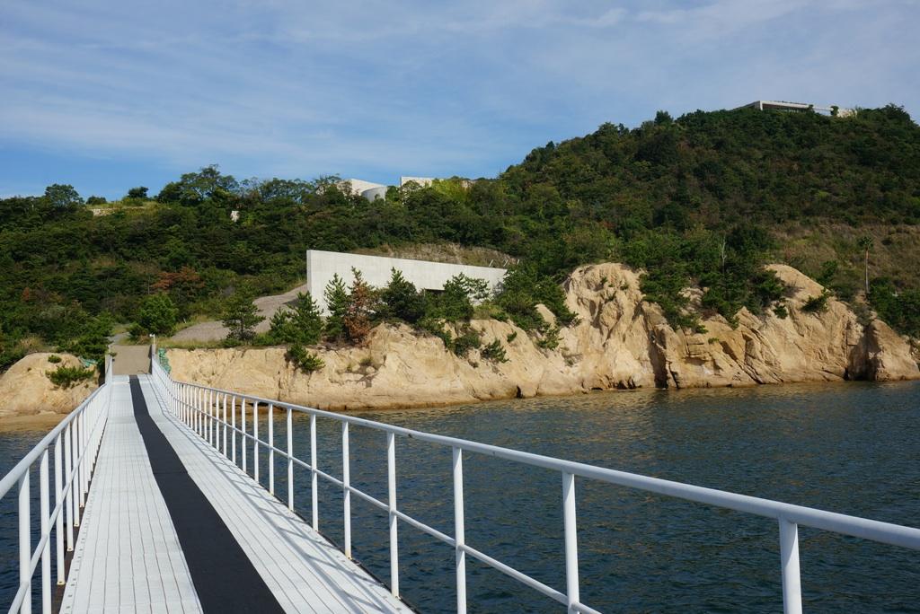 ベネッセアートサイト直島の桟橋
