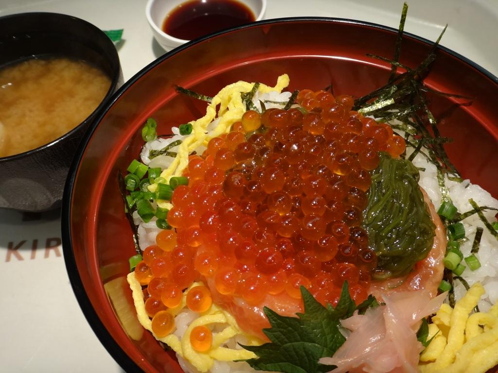 鮭・イクラ親子丼@キロロ