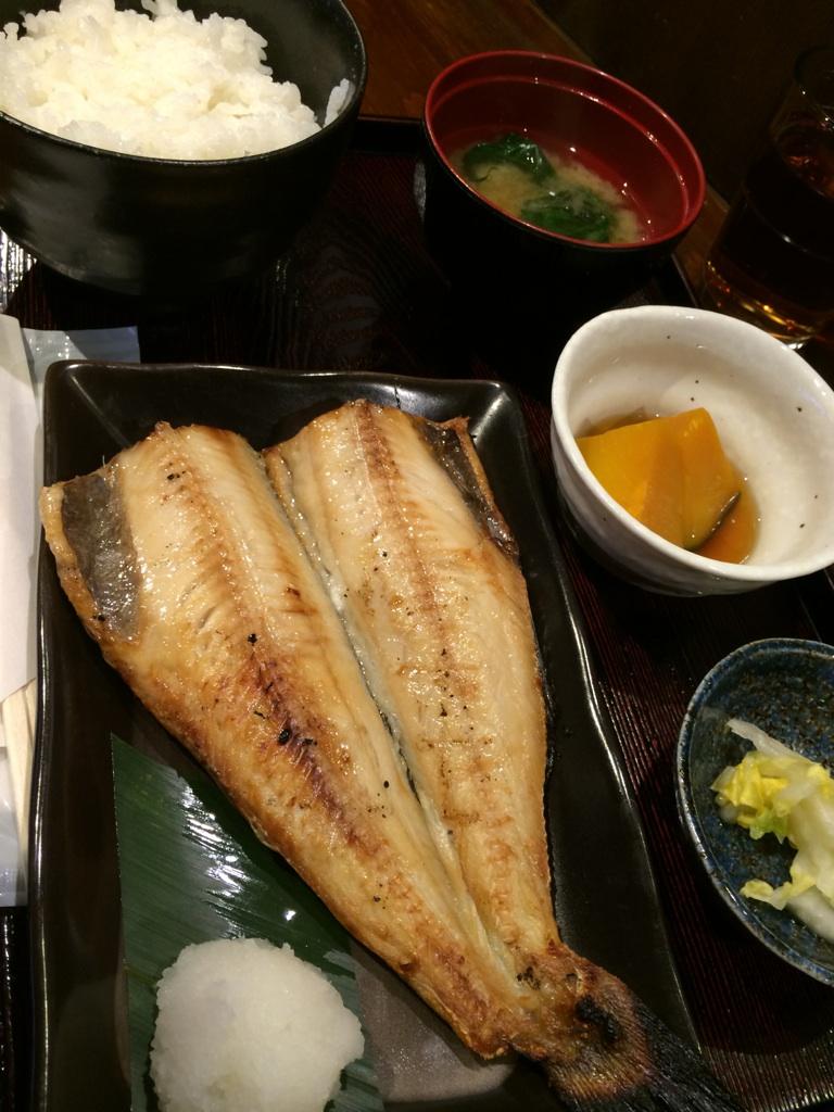 焼魚食堂@渋谷