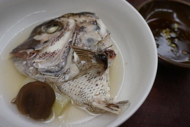 湧駒荘の夕食(2日目)