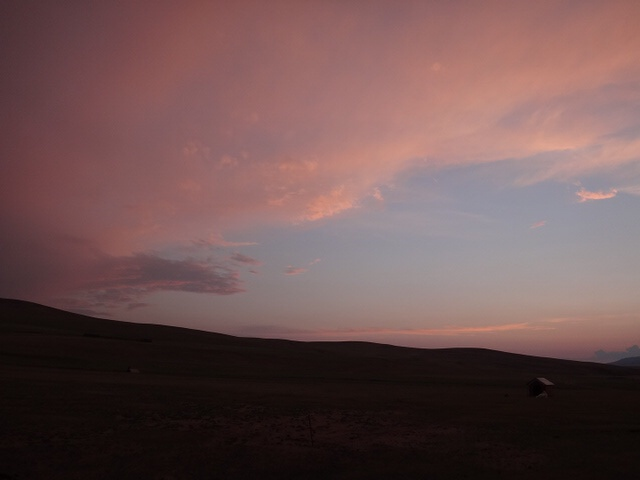 満天の星空@エレステ ツーリスト キャンプ(モンゴル)