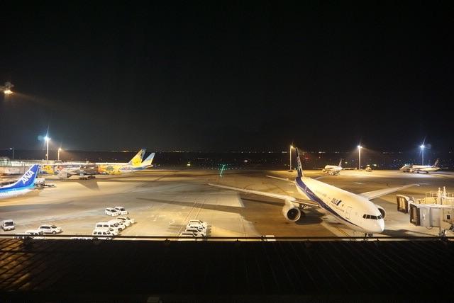 夜の羽田空港@羽田エクセルホテル東急