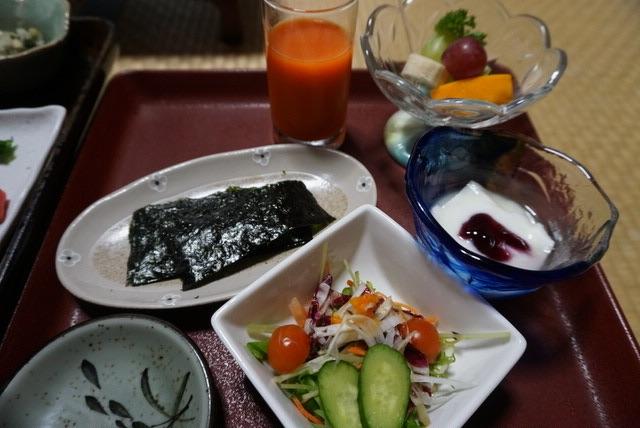 元祖うなぎ湯の宿ゆさや@鳴子温泉の朝食