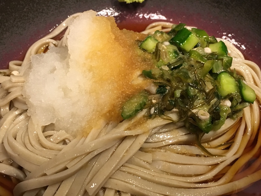 蕎麦 冷麦 嵯峨谷 渋谷店