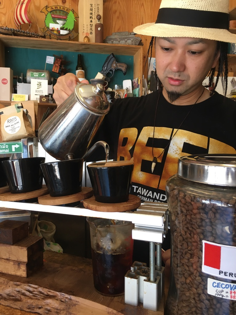 ARiSE COFFEE ROASTERS@清澄白河
