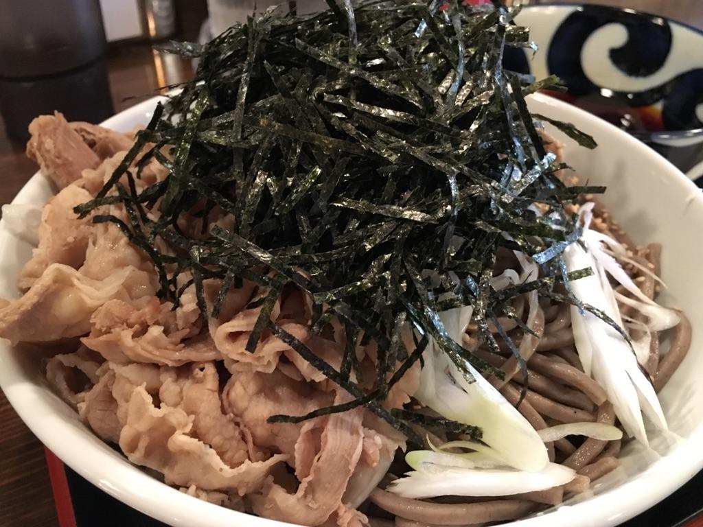 蕎麦 ちばから@渋谷