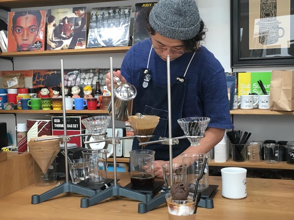 stereo coffee@渡辺通り(福岡)