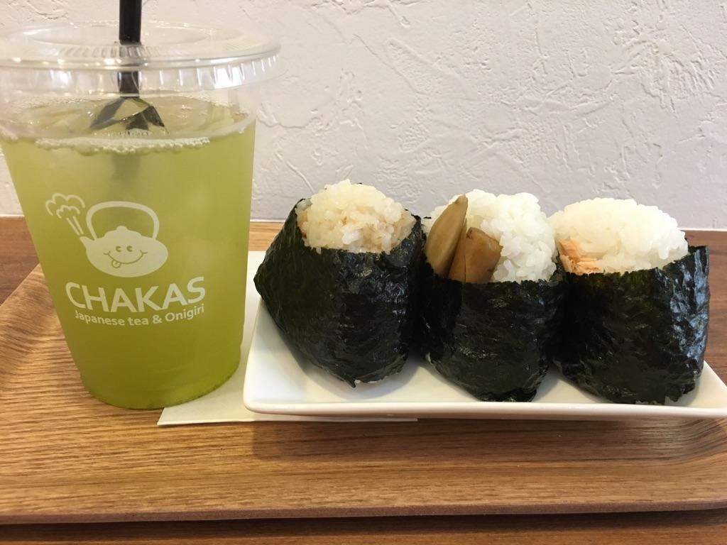 チャカス(CHAKAS Japanese tea & Onigiri)@渋谷