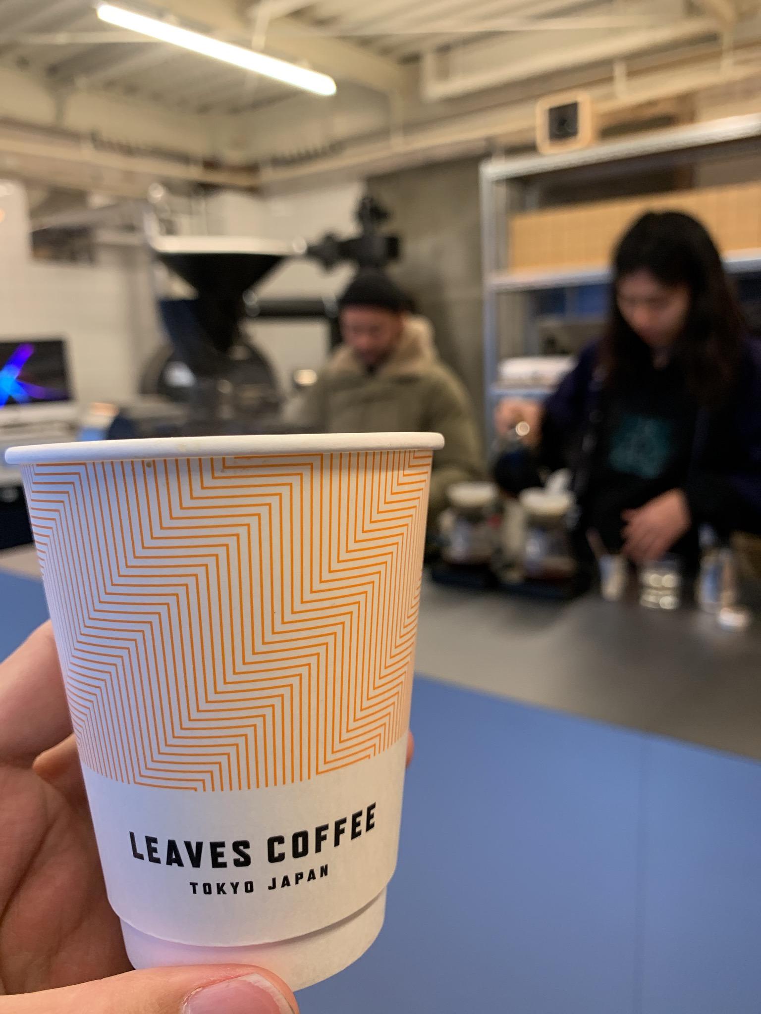 LEAVES COFFEE ROASTERS@本所